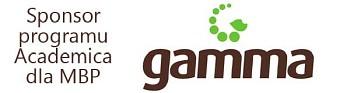 Gamma - sponsor dostępu do Academica